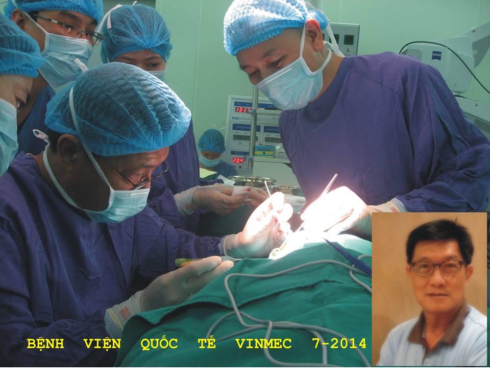 Tiến sỹ Kiertiyos Komin phẫu thuật thành công cho bệnh nhi có giải phẫu ốc tai bất thường