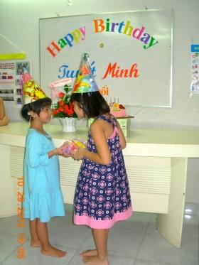 Sinh nhật Tuyết Minh 2012